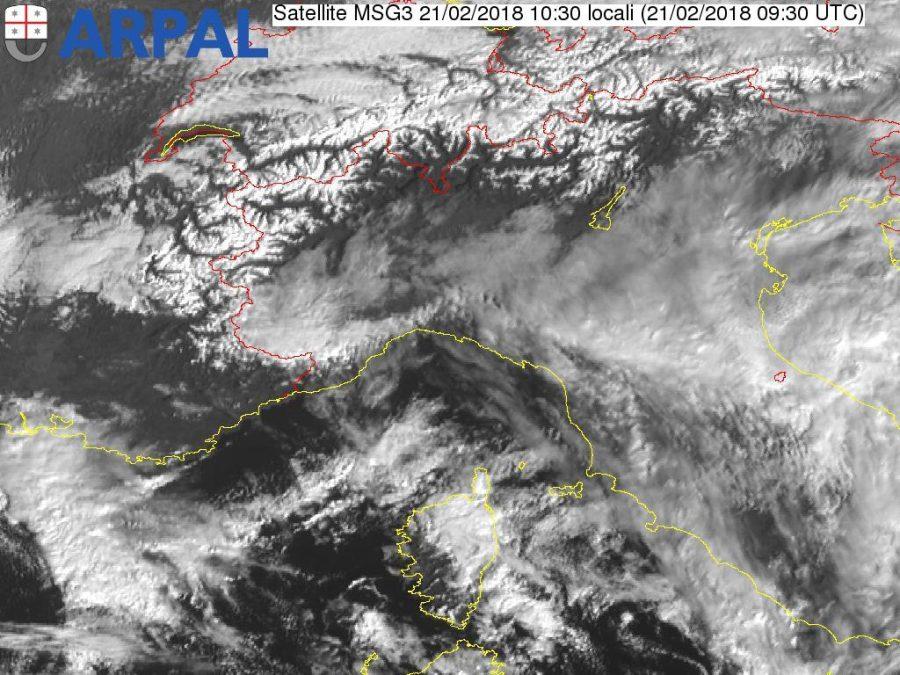 Meteo Abruzzo: possibile ondata neve e gelo a partire da Lunedì
